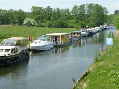 Badestelle, Wustrow, Mecklenburg-West Pomerania, Germany