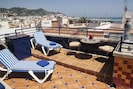 Relax and enjoy the sun and the views from both the rooftop and dining terraces.