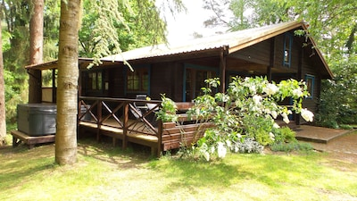 We have 2 cottages: Viipuri (7 beds) and Karelia (5 beds). This is Viipuri.