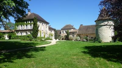 Montbellet, Saône-et-Loire Département, Frankreich
