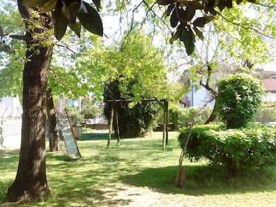 Appartamento 75 mq pianoterra giardino 1-8 persone Noventa di Piave VENEZIA
