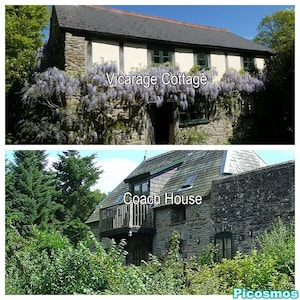 Above: Vicarage Cottage Below: Old Vicarage Coach House