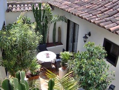 Apartamentos Monasterio de San Antonio, apartment 1 with small terrace