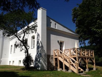 Parkblick: Terrasse
