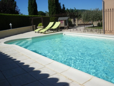 piscine gîte 6 pers