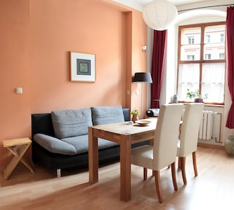 Living room with kitchen Apartment 1