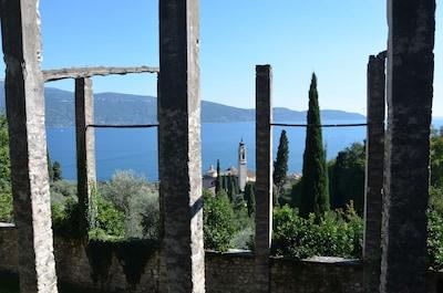 Parc Fontanella, Gargnano, Lombardie, Italie
