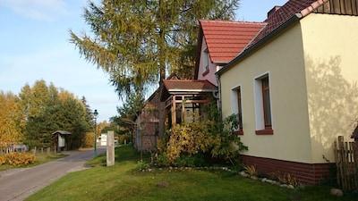 Forsthaus Menow, direkt am Radweg Berlin - Kopenhagen