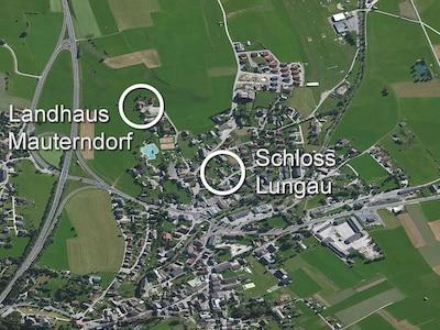 Lage Landhaus Mauterndorf