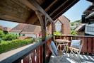 Kleiner Balkon bei Wohnung 1