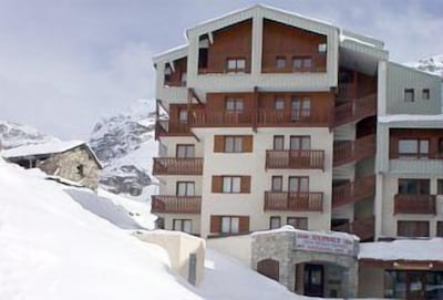 Hameau du Borsat at the top of Tignes Val Claret