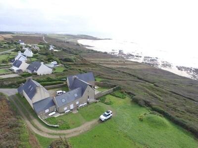 Vue  aérienne  de  la  propriété  prise  en  hiver  !!!