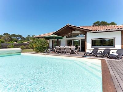 Étang de Moliets, Moliets-et-Maa, Landes, France
