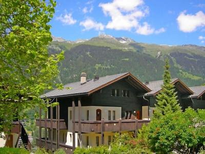 Luftseilbahn Fiesch-Fiescheralp I, Fiesch, Wallis, Schweiz