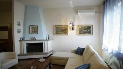 Casa Rocchi-Crotta, Romagnese, Lombardei, Italien