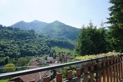 Moio de' Calvi, Lombardei, Italien