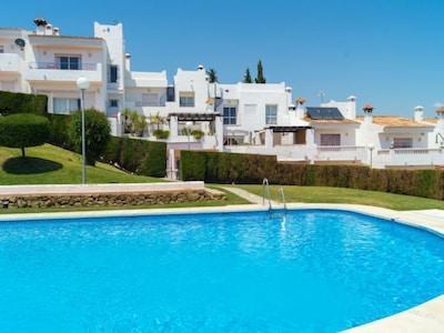 Saladillo Beach, Estepona, Andalusia, Spain