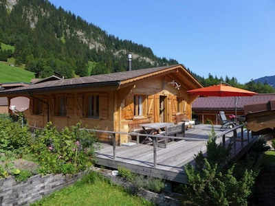 Télésiège d'Oldenalp-Oldenegg, Gsteig, Canton de Berne, Suisse