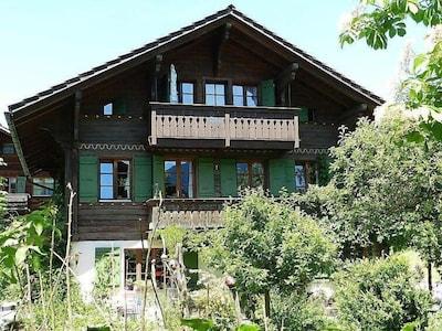 Saanen, Canton de Berne, Suisse