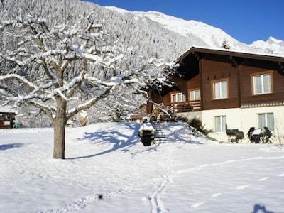 Gondelbahn Blatten - Belalp, Naters, Wallis, Schweiz