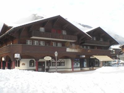 Skilift Lavey, Adelboden, Cantone di Berna, Svizzera