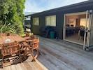 Back deck complete with BBQ - great indoor/outdoor flow