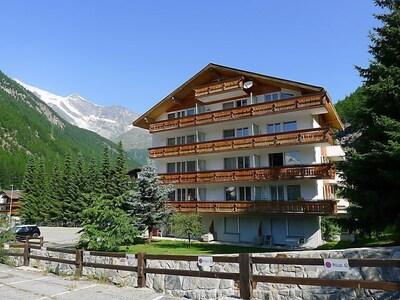 Saas Almagell, Valais, Switzerland