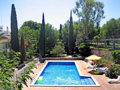 Calafell Slide, Calafell, Catalonië, Spanje