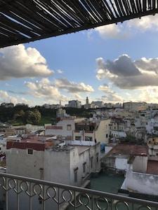 Vue de la première terrasse