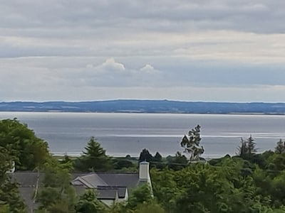 View of Dundalk from the house