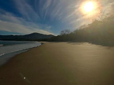 Easy walk to playa conchal