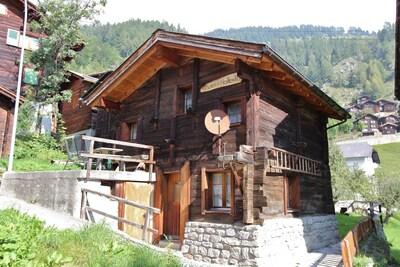 Betten, Bettmeralp, Wallis, Schweiz