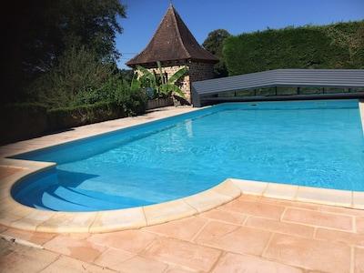 Grande piscine de 11x6