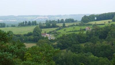 LA MAISON DE COCO vue du belvedere de GOULT