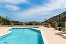 Villa Argyro! Stunning country side views from the pool terrace.