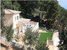 Over looking villa towards the sea