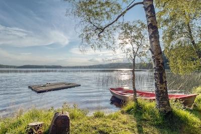 Välornas badplats, Gnosjo, Jönköping County, Sweden
