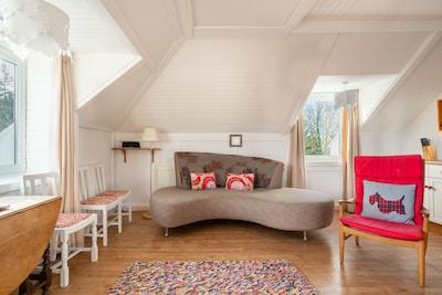 Castle Cottage Open Plan Living Room