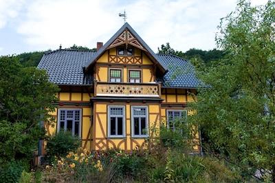 Katzhütte Station, Katzhutte, Thuringia, Germany
