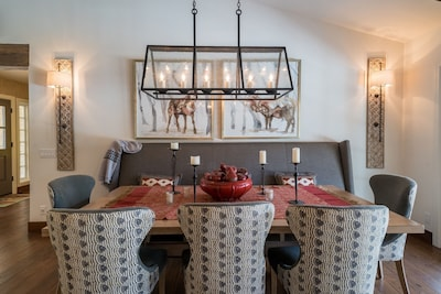 Dining Table with seating for 8+