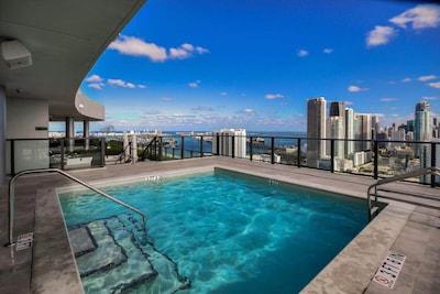 Town Square, Miami, Floride, États-Unis d'Amérique