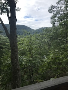 View from the Cabins