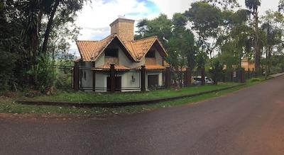 Casa aconchegante junto a natureza