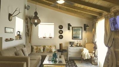 Casa de campo (alquiler íntegro) El Ciprés de Prado, para 4 personas