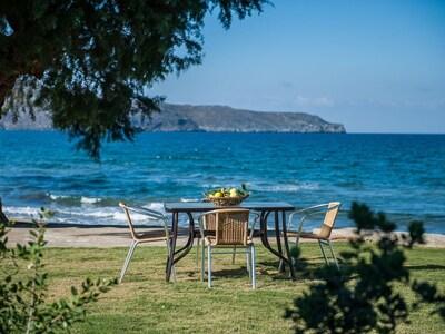 Agia Marina Beach, Chania, Crete, Greece