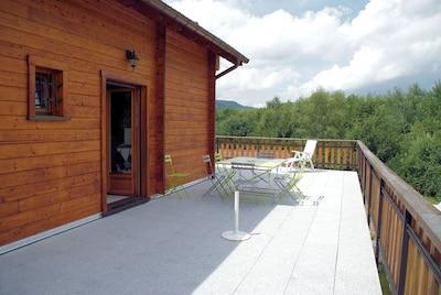 Grande terrasse N-W, accès cuisine