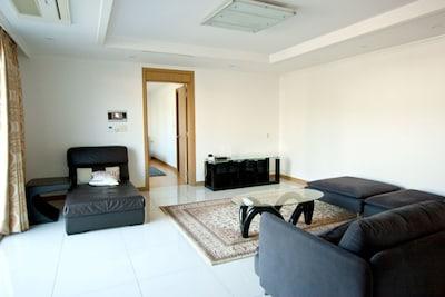 Living Room looking into Master Bedroom Ensuite