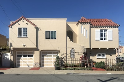 Homey SF 2BR Suite near SFO and Balboa BART