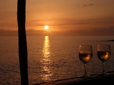 Enjoy a fabulous sunset right from your balcony every night.