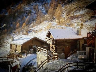 Bionaz, Val d'Aoste, Italie